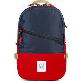 Topo Designs Standard Rucksack navy/red